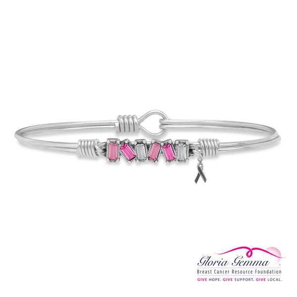 Luca & Danni Mini Hudson Pink Ombre Bangle Bracelet
