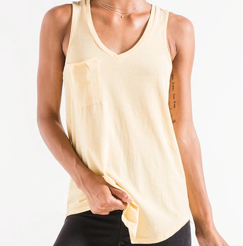 Z Supply The Pocket Racerback Tank