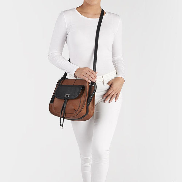 Saint Sabrina Brazen Concealed Carry Saddle Bag