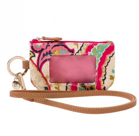 Spartina 449 Salt Meadow Lanyard ID Pouch