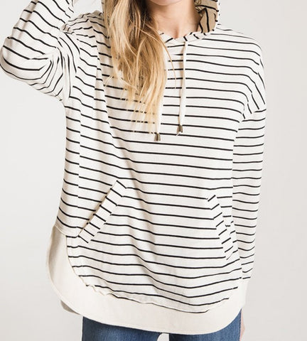 Z Supply Striped Dakota Pullover