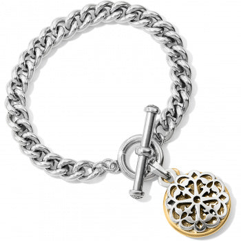 Brighton Ferrara Two Tone Toggle Bracelet