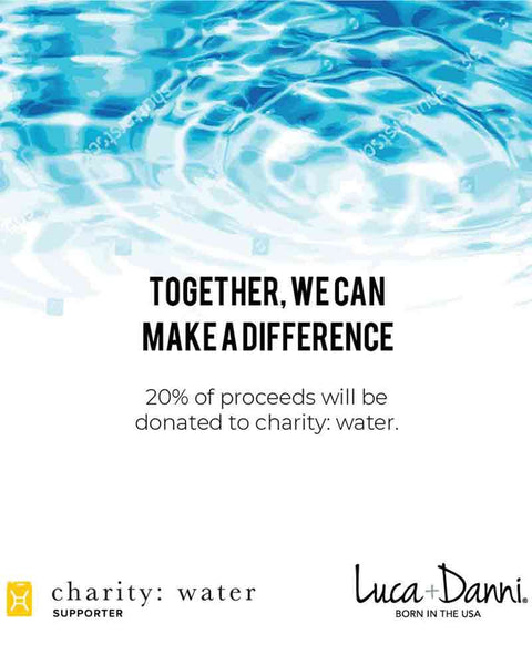 Luca & Danni Water Charity Bangle Bracelet