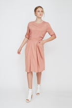 Flare Pocket Dress- Mauve