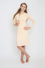 SLIP DRESS - Blush\Nude