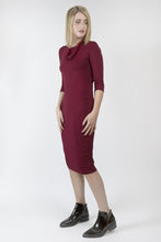 BODY DRESS Burgundy