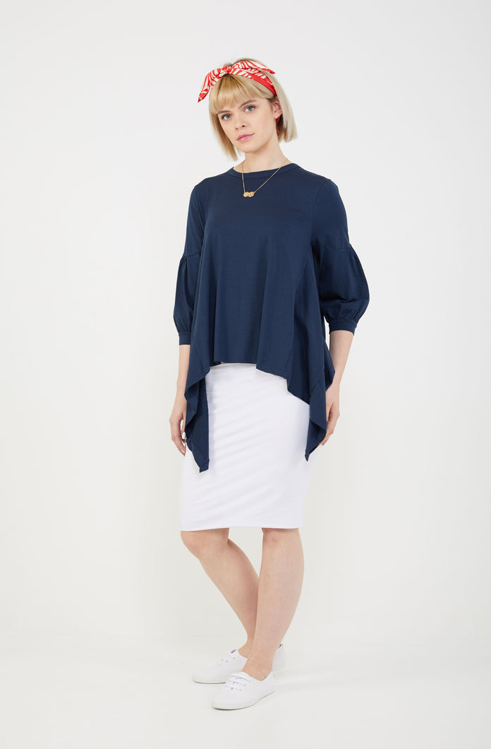 BELLE T-SHIRT - Navy