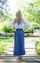 FLARY POCKET SKIRT Periwinkle Blue