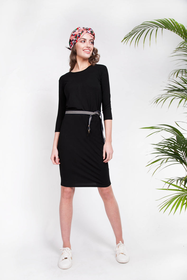 CASABLANCA DRESS Black