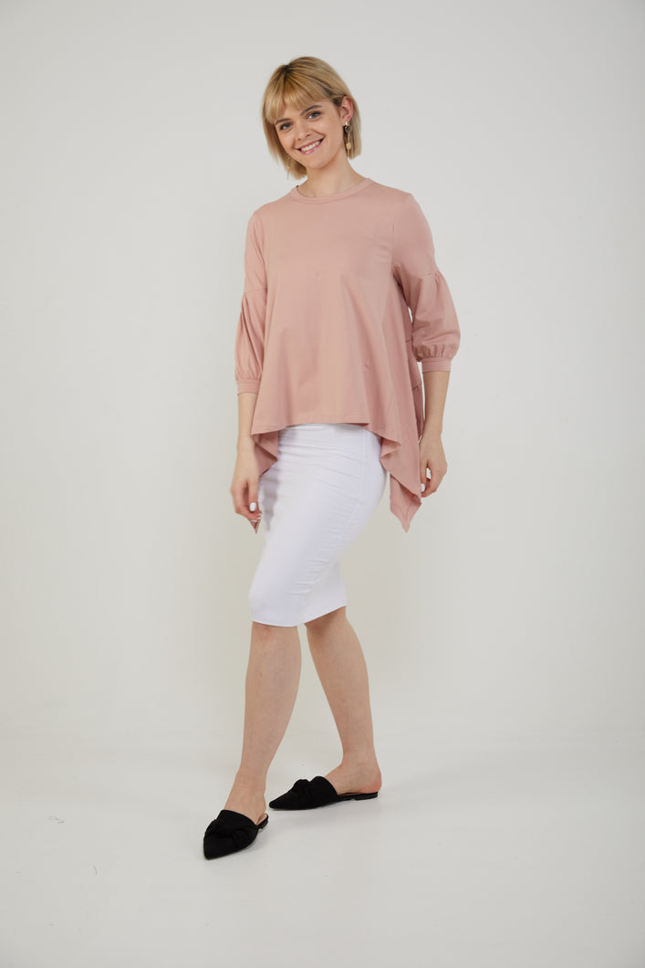 BELLE T-SHIRT - Blush