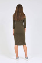 BODY DRESS Khaki Green