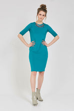 CASABLANCA DRESS Aqua Green