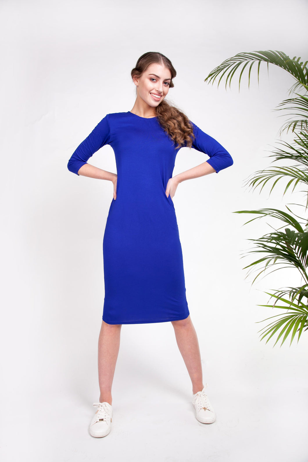 BODY DRESS Cobalt Blue