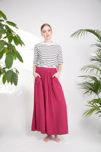 FLARY POCKET SKIRT Cranberry