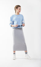 SHORT TUBE SKIRT Heather Grey Light
