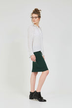 SHORT TUBE SKIRT Hunter Green