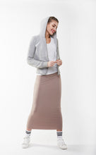 MIDI TUBE SKIRT Taupe