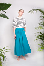 FLARY POCKET SKIRT Teal