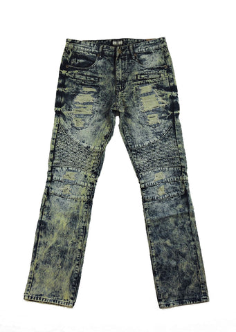 Biker Denim - Dark Indigo Wash
