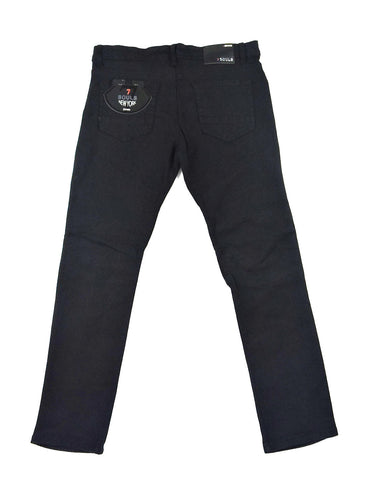 Biker Stretch Denim - Black