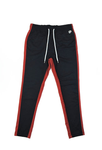 Track Pants II - Navy/Red