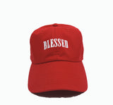 Blessed Dad Cap - Red