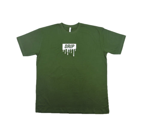 Drip Tee - Forest Green
