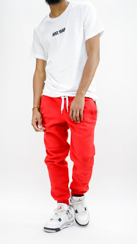 Lazy Day Joggers - Red