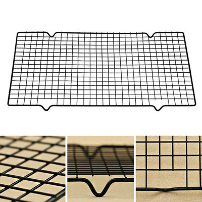 Stainless Steel Non-Stick Wire Cooling Rack - 2 Piece Set
