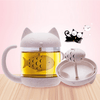 Cat Mug Fish Tea Infuser
