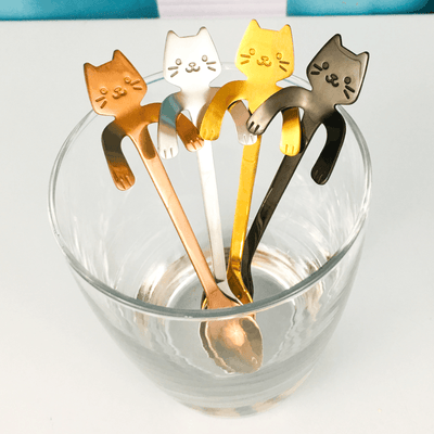 Kitty Cat Spoons - 4 Piece Set
