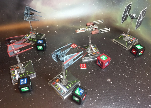 Dogfight Tokens (Compatible with SW X-wing)