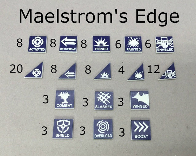 Tokens Compatible with Maelstrom's Edge