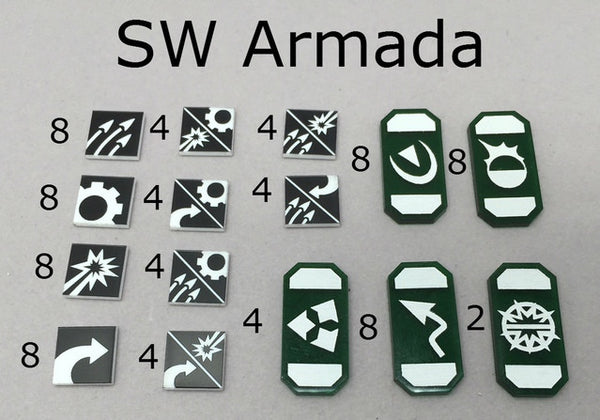 Token Set Compatible with SW Armada