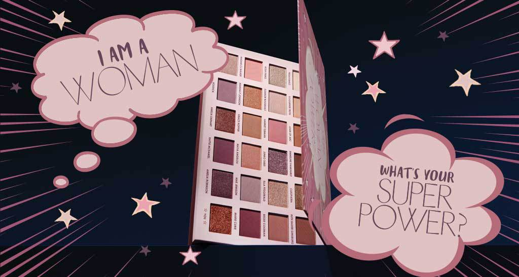 Introducing our new I Am Woman Eyeshadow Palette