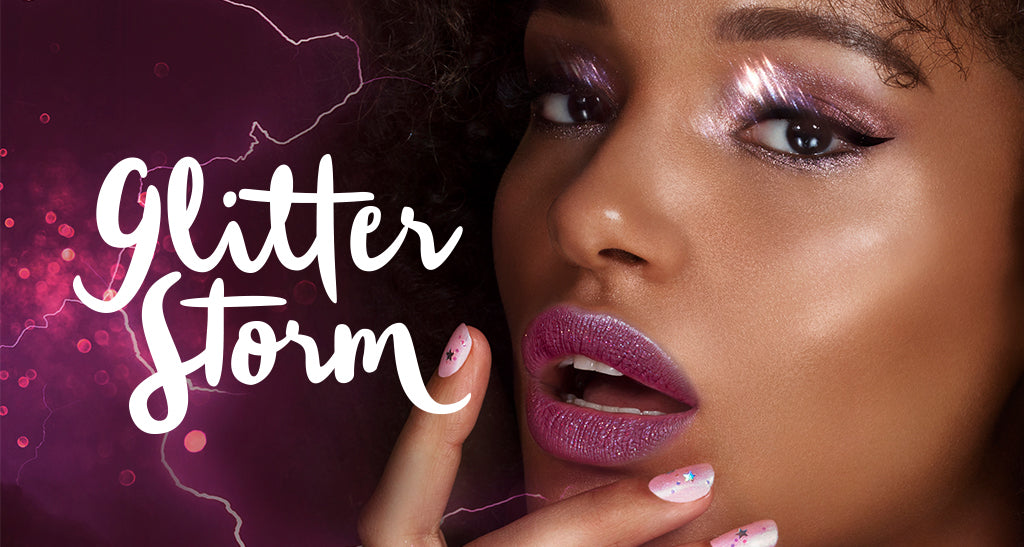 Get the Glitter Storm Look