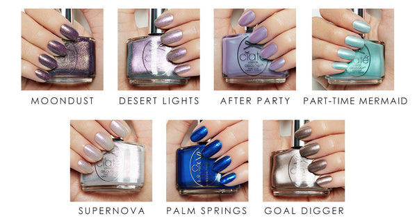 holographic nail trend