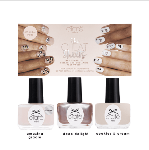 Cheat Sheet - Get the Look Kit Nail Polish Ciaté London