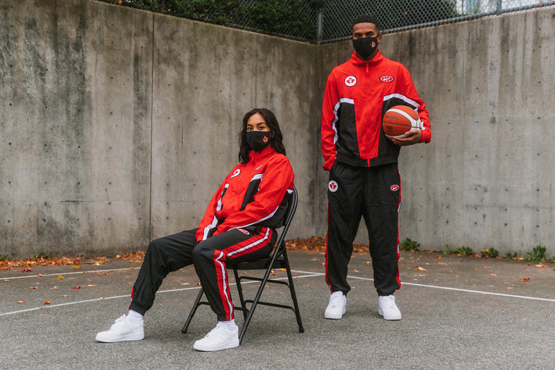 Canada Basketball Face Cover