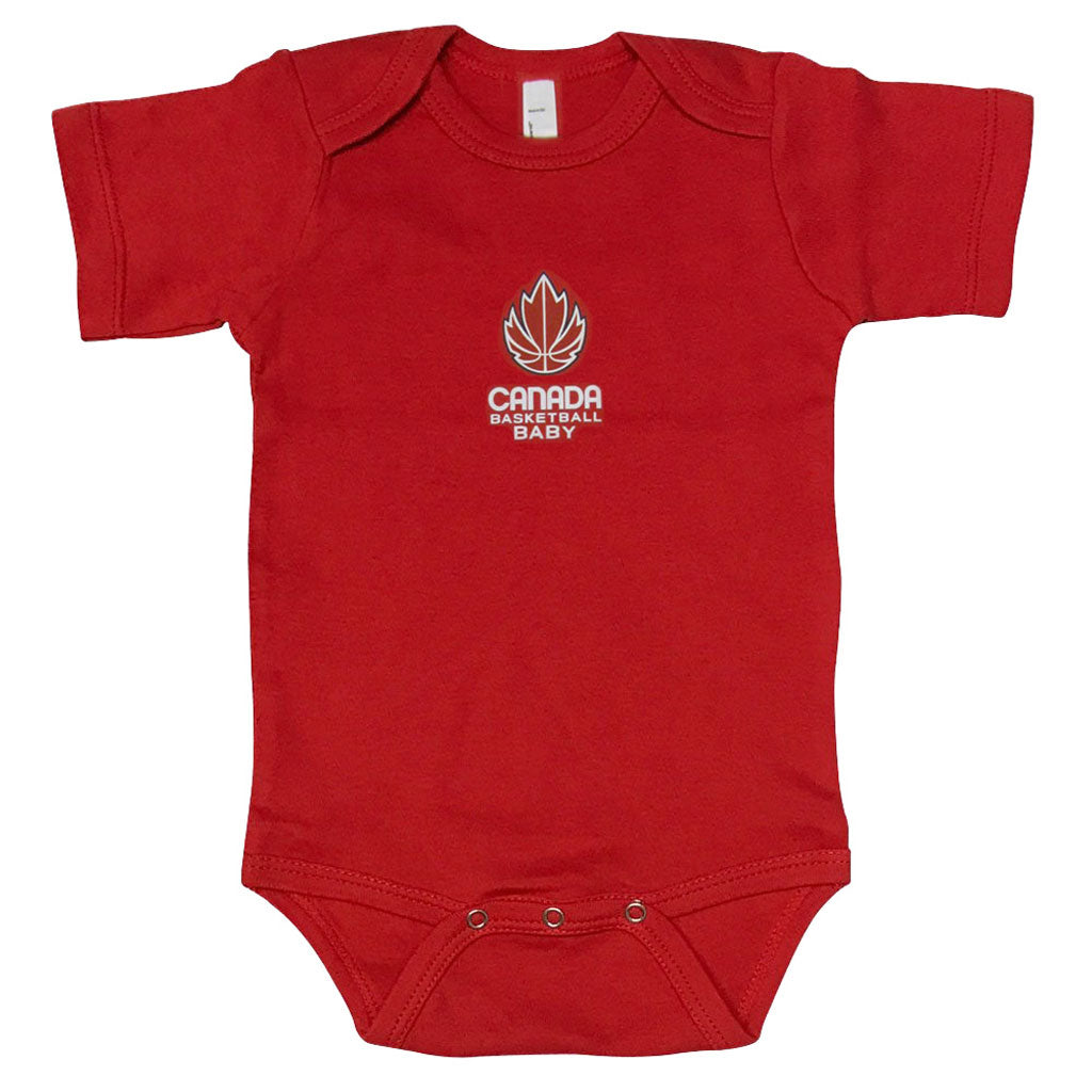 Youth 12-18 Month Short-Sleeve Onesie - Red
