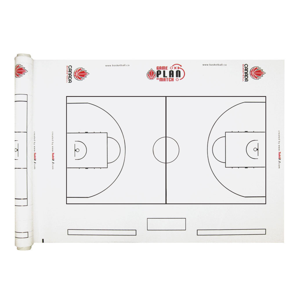 Canada Basketball Dry Erase Courts -