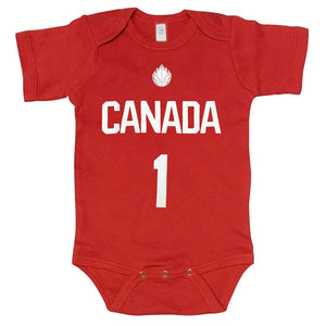 Youth 18 Month 'Rookie' Onesie - Red