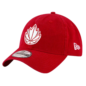 Canada Basketball New Era 9TWENTY Adjustable Cap - Red/White