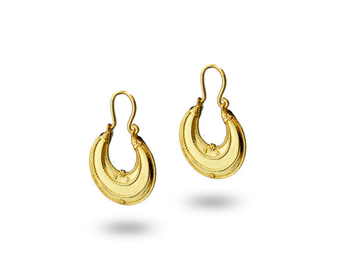 """Hasrat"", The Desire Earrings Yellow Gold"