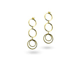 """Orane"", The Rising Earrings Yellow Gold"
