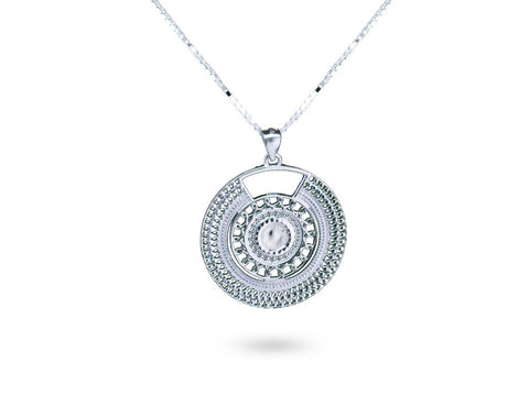 """Lakshita"", The Distinguished Necklace White Gold"