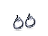 """Eva"", Life Earrings in White Gold"