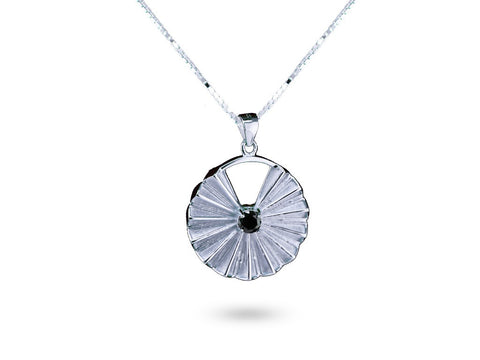 """Indrakshi"", The One with Beautiful Eyes, Necklace White Gold"