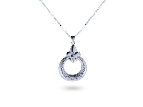 """Eva"", Life Necklace in White Gold"
