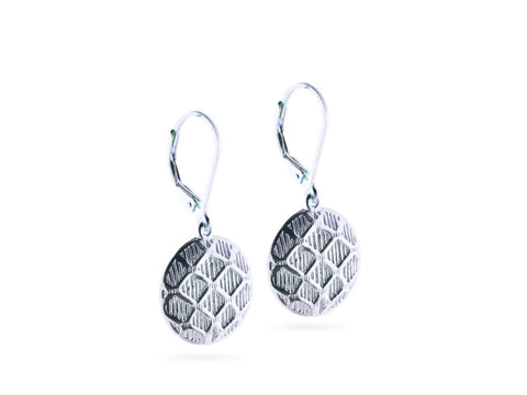 """Aida"", Happy Earrings in white Gold"